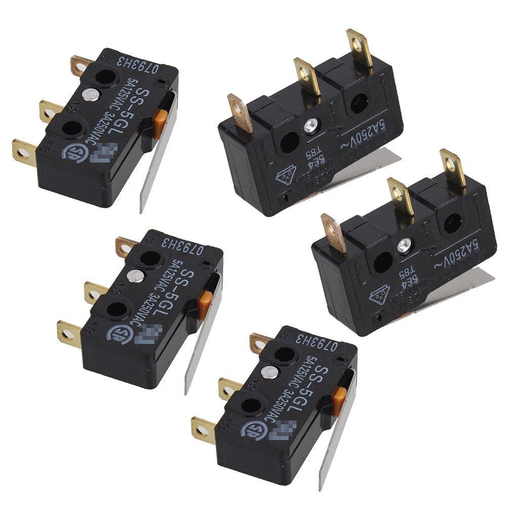 Black Optical Endstop Light Control Limit Switch For 3D Printer RepRap Makerbot Prusa Mendel RAMPS1.4 Set of 5