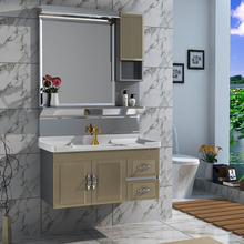 China Professional Manufacturer Coating Bathroom Cabinet Stainless Steel Classic Bathroom Cabinet