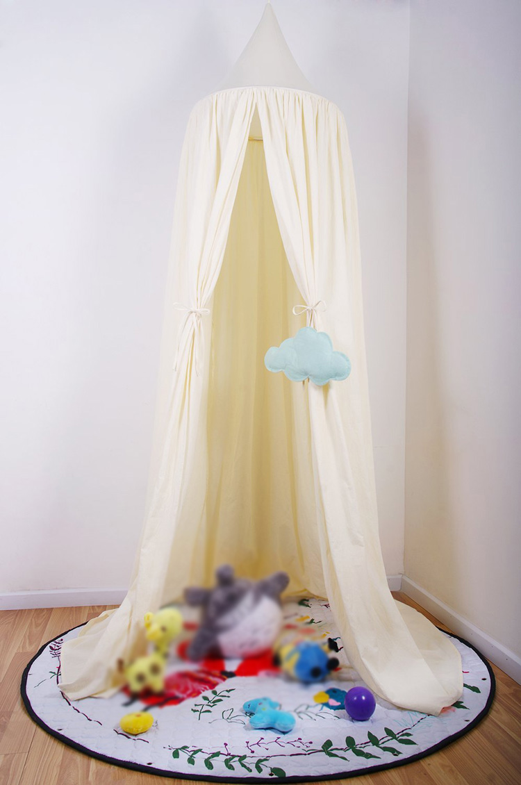 Szplh Unisex Bed Curtains Canopy For Baby Kids Reading And ...
