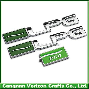 Latest Design Plastic 3d Abs Chrome Car Brand Logos Sticker For Car
