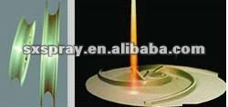 Coating services , Textile machinery parts and mud pump impeller,plasma spray