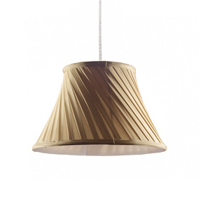 colorful silicone pleated silk fabric pendant halogen lamp shade for LED light housing lamp cover