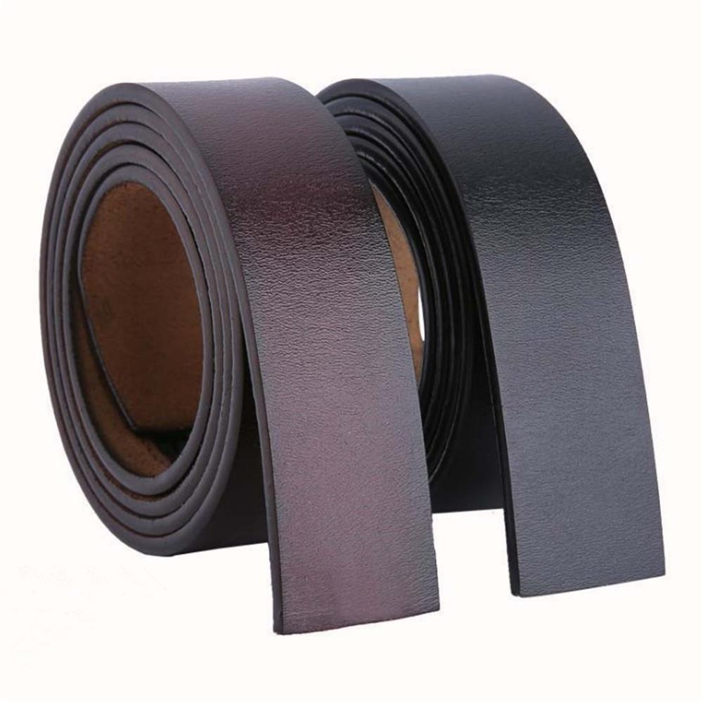 Exceart 1 Pieza de Tiras de Cintur/ón de Tiras de Cuero de Cuero de Vaca Natural para Manualidades Herramientas Taller Hecho a Mano Ancho de 2 4 Cm