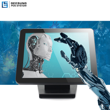 15 inch LCD Waterproof Capacitive Touch Screen Monitor