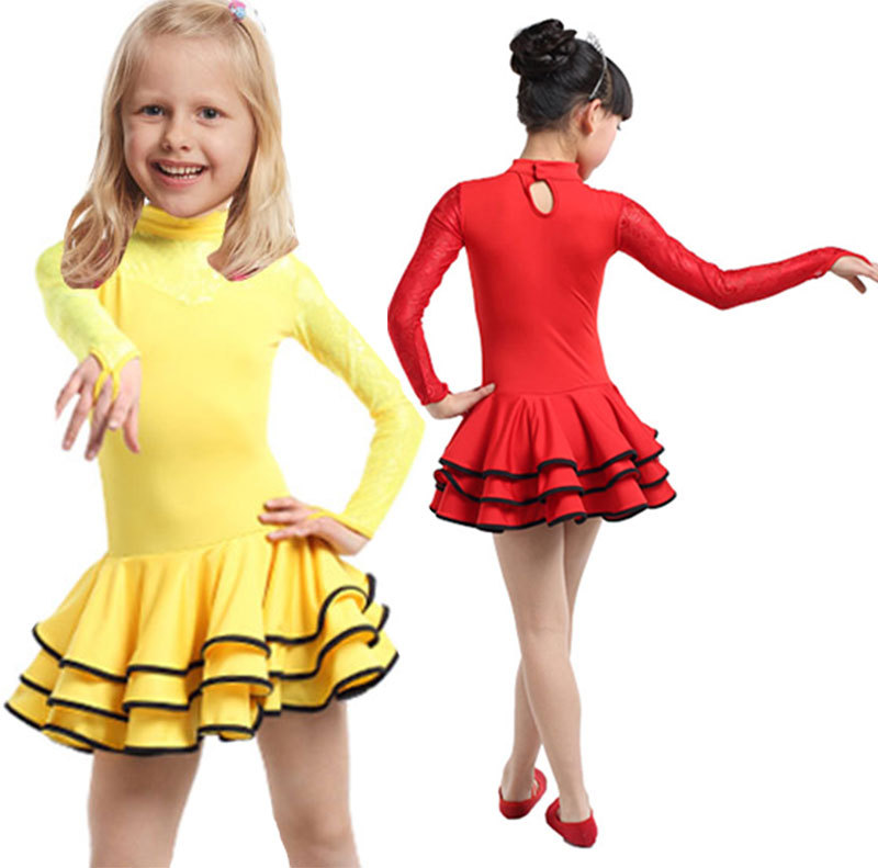 ceb0d39a1eff Buy Latin Girls Dance Dress For Girls Dancewear Ballroom Dancing ...