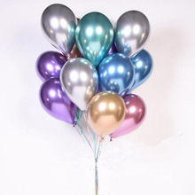 2019 12 inch metallic latex <span class=keywords><strong>ballonnen</strong></span> voor party verjaardag bruiloft decoraties chrome ballon