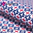 home textile custom printed cotton fabric poplin for bedsheet
