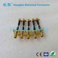 SMA electrical Connector wiring Cable Assembly