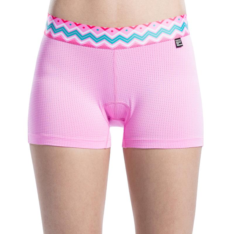 Santic Men 4D Padded Cycling Underwear Bike Short Underpants Black-Fengdu