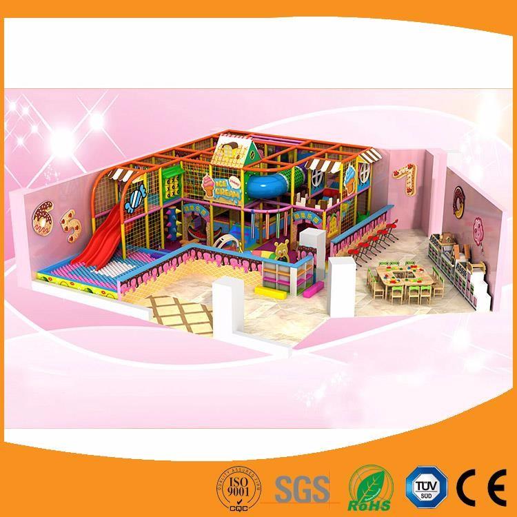 zona de juego infantil de interior del patio de dos pisos nios plstico castillo travieso interior