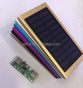 8000mAh Solar book mobile s Power Bank External Backup Battery Pack Dual USB Solar Panel Charger with 2LED Light solar power ban