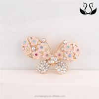 Fancy Gold Plated Korean Butterfly Pin Brooch