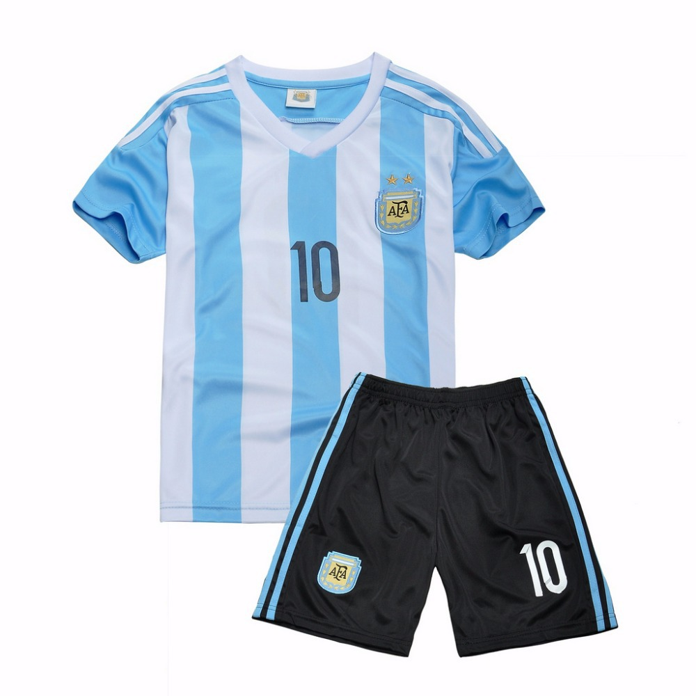 reputable site 238c9 5ca94 Buy Cheap Clothes China Argentina Children Soccer Jersey ...