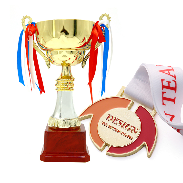 custom award metal sports medals and trophies