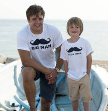 father and son t-shirt Children Kids Custom Funny Tshirt