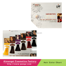AMS Handmade ISO Hair Color Chart Supplier