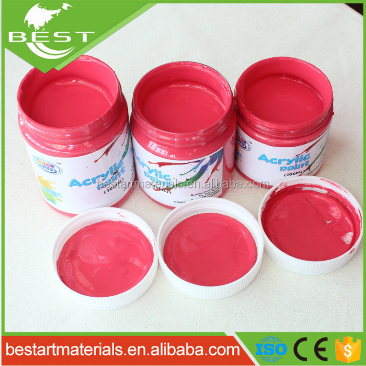 Non Toxic Wholesale High Quality 200ml Glossy Acrylic Paints For Painting Canvas Buy Acrylic Artistic Paint Glossy Acrylic Paint Acrylic Paint