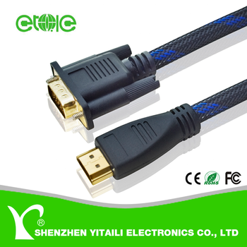 1080p Hd 15pin Hdmi To Vga Cable Buy High Quality Hdmi