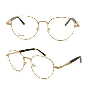 08ef30cb9d 2018 Fashionable Round Shape Stainless Steel Glasses Optical Frame