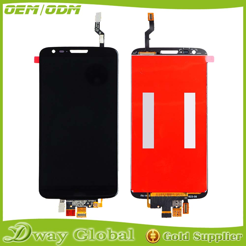 Packing Well Brand New Original LCD With Digitizer For LG G2 D802 D805, For LG G2 D802 D805 Display, For LG G2 D802 D805 LCD