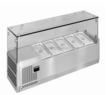 Counter Top Salad Bar Stainless Steel/direct Cooling ...