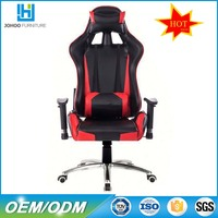 P01 office furniture car seat style chair PU leather gaming chair cheap
