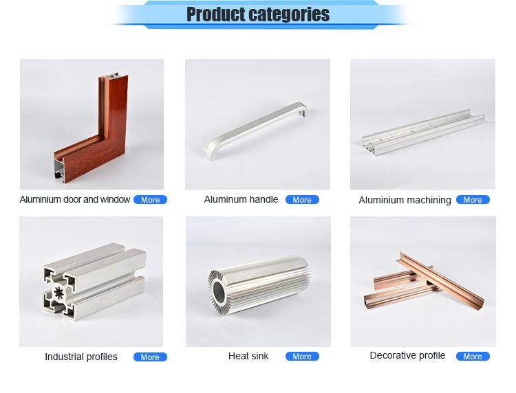 Alu/aluminium extrusie profiel aluminium holle buis
