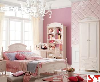 Russia Design White Kids Bedroom Sets Girls Bedroom Furniture Simple ...