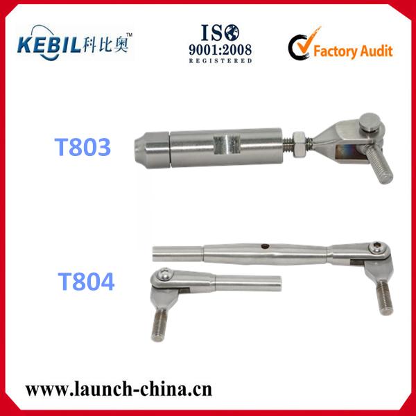 Cable de acero inoxidable final barandilla accesorios del for Tensor cable acero