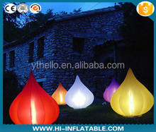 floor/yard decoration inflatable cone /LED lighting Christmas/event/party decoration
