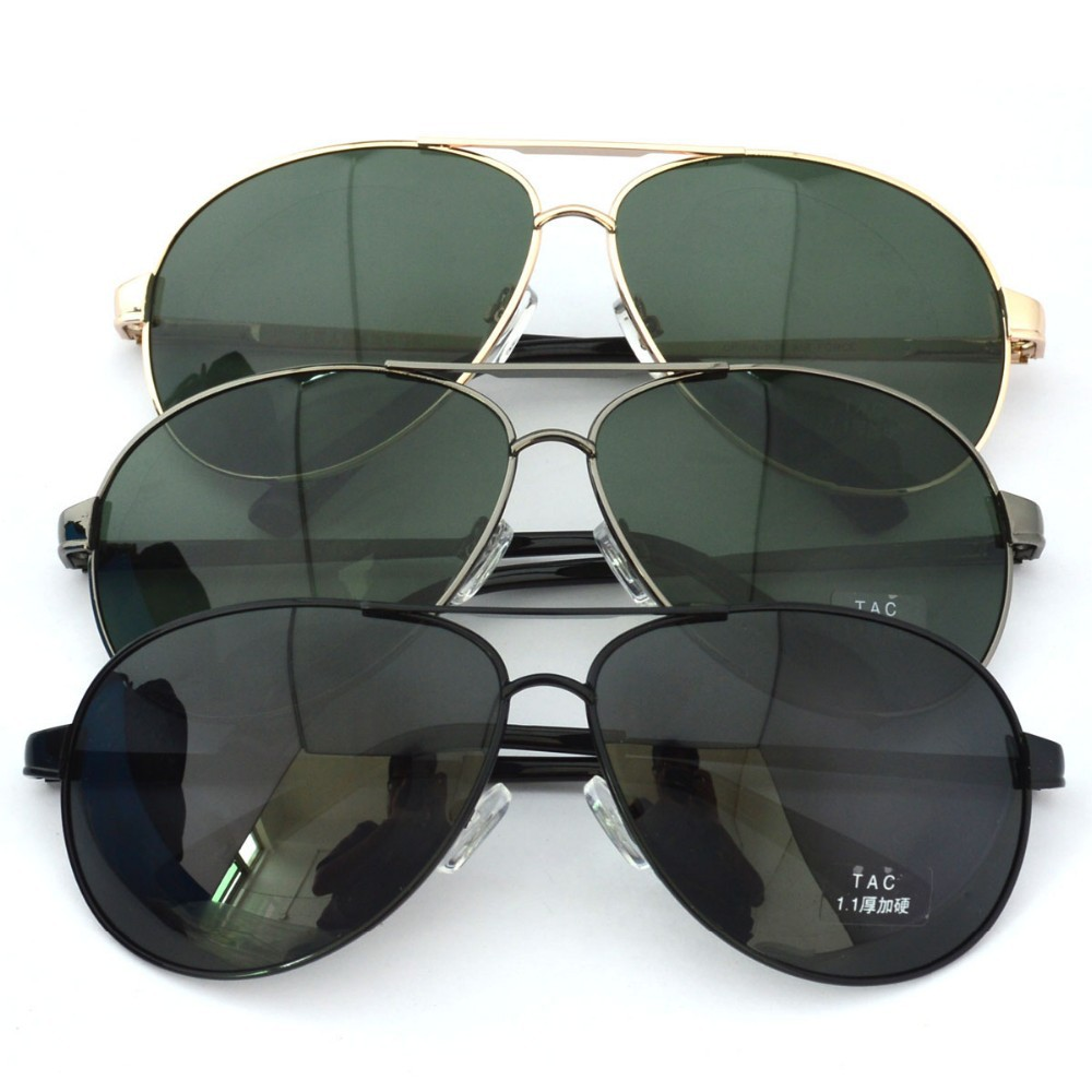 High Quality Chinese Air Force Polarized Metal Sunglasses - Buy ... 8279d78d317