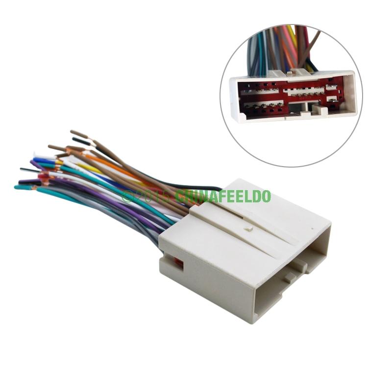car radio cd player wiring harness audio stereo wire ... hyundai sonata aftermarket stereo wiring harness aftermarket stereo wiring harness adapters #2
