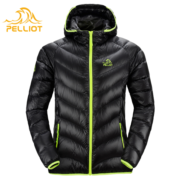 2016 Thermal Toray Fabric Goose Down Jackets Men Customize