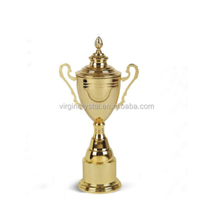 Sports Metal Trophy Awards Cup with Lid in Popular Style