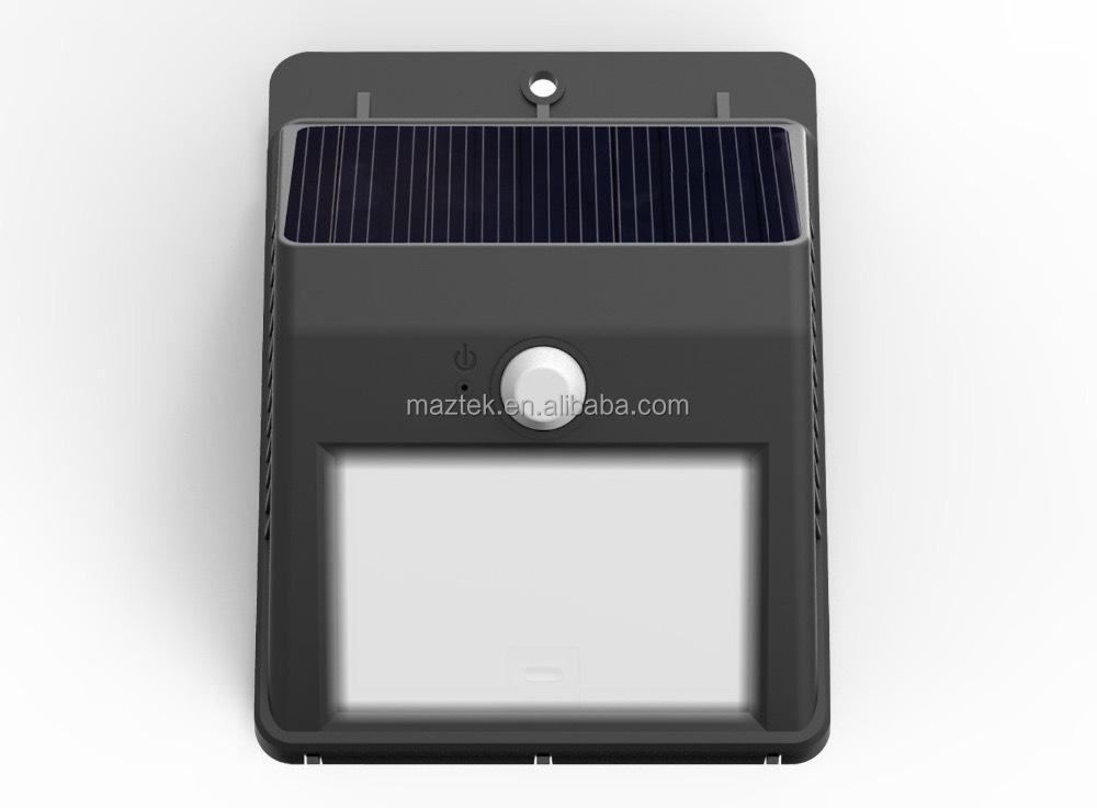 Solar Motion Sensor Light Led Waterproof Wireless Solar Power ...