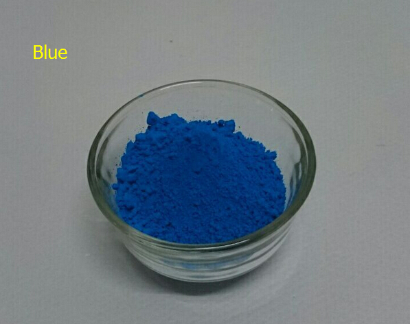 NEON Lake Blue Color Fluorescent Phosphor Pigment Powder for Nail Polish Painting Printing 100g lot Powder