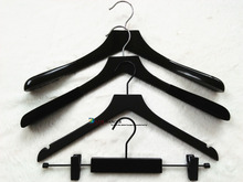 coat hanger Black color hanger factory