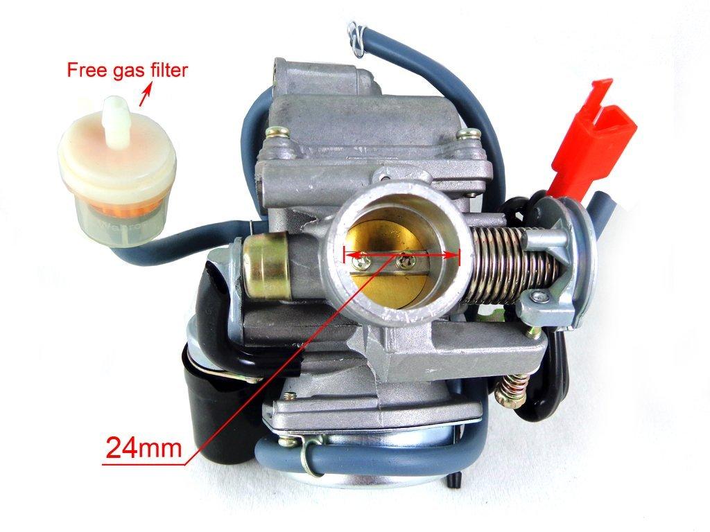 SCOOTER GY6 Carburetor CARB 125 150 CC ATV NST JCL Chinese Roketa Sunl