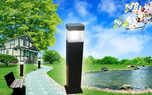 Kleur veranderende park vierkante yard outdoor landschap licht solar tuin led pad verlichting - Outdoor licht tuin ...