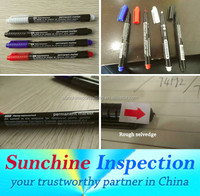 Marker and Pen Pre-Shipment Inspection Service in Jinhua / Yiwu / Huzhou /School & Office Supplies QC Inspection