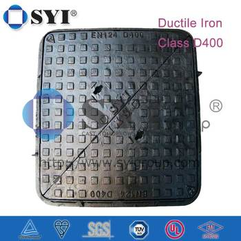 D400 Double Triangular Clear Opening 600/675 Manhole Cover
