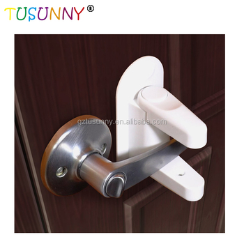 Safety 1st French Door Lever Handle Baby Proof Child Lock One Hand