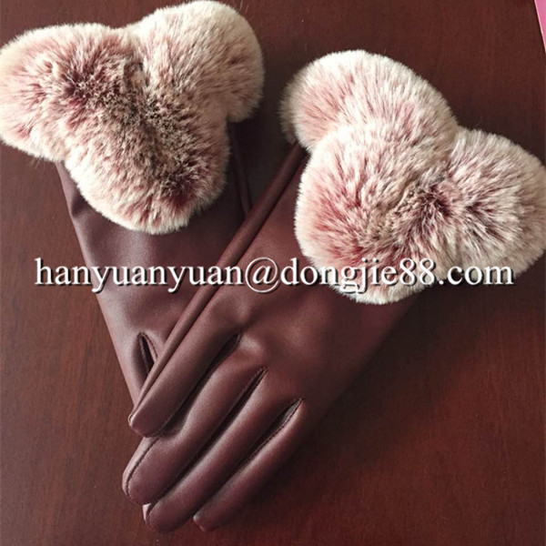 Classic Red Soft Lambskin Cow Motorcycle Gloves Women Leather ...