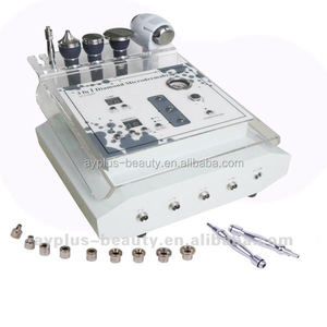 3 in 1 multi-function beauty equipment/ Diamond Dermabrasion, Hot & Cold Hammer, Ultrasonic beauty equipment AYJ-G028(CE)