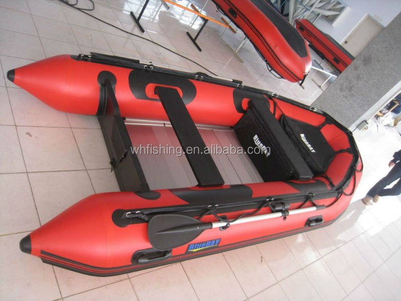 China Factory PVC Newest Speed Boat Inflatable Rowing Boats without Engine