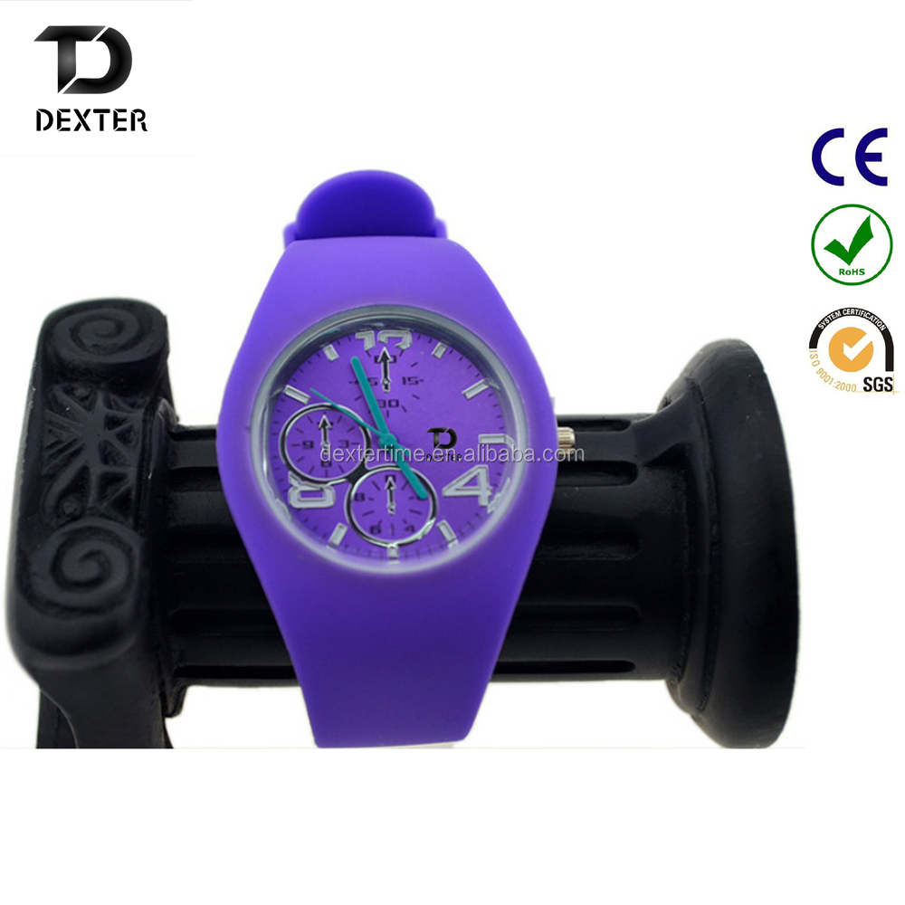 New Arrival SKMEI Brand Women Colorful Jelly Watch Men Silicone Band Quartz Watch 30M Waterproof Sports Watches