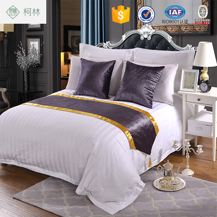 china import wholesale stripe hotel bedding and linens