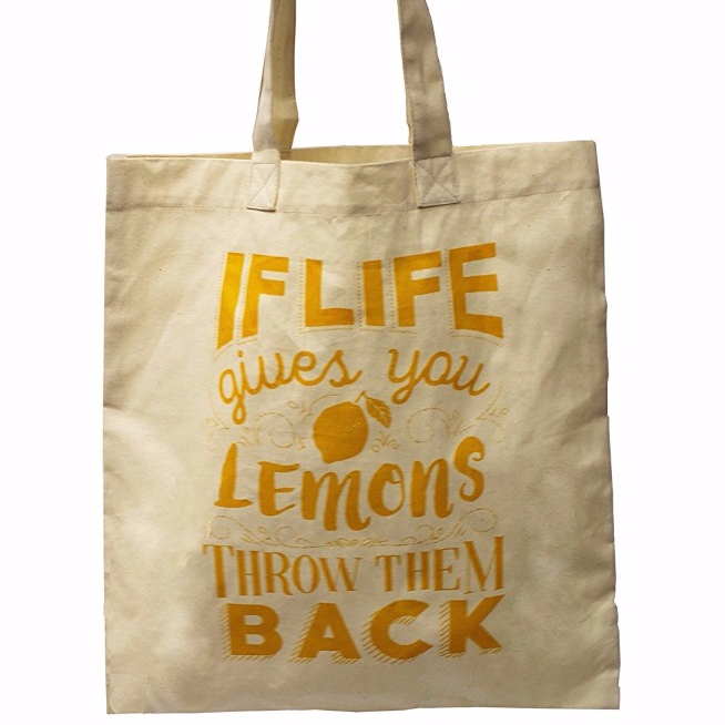 Cute and Funny Prints Organic Cotton Reusable Grocery Bag Shopping <strong>Totes</strong>
