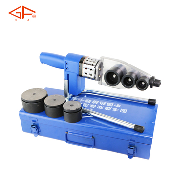termofusora GF-825EAD, electric ppr pvc pe plastic pipe welding machine