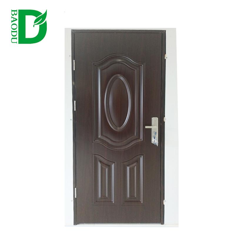 Puerta de baño diseños galvanizado hueco metal puerta-Puertas ...